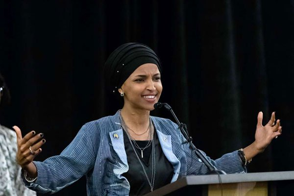 Ilhan Omar, newly-elected to the US House of Representatives on the Democratic ticket. Photo: AFP