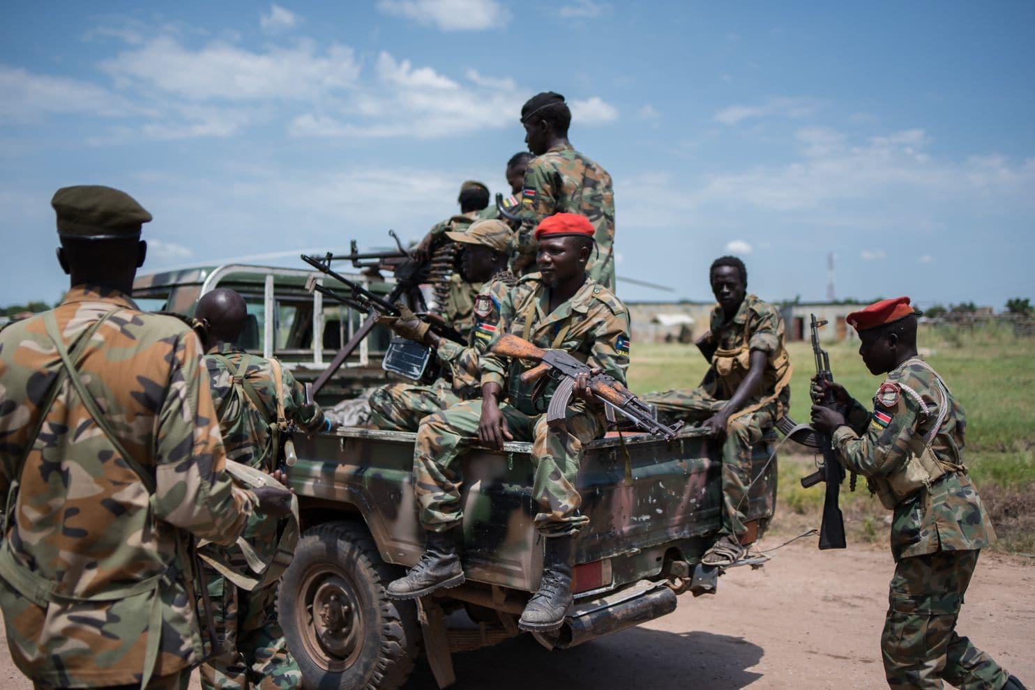 South Sudan tribal war