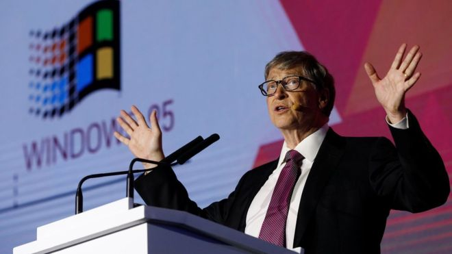 Bill Gates founded Microsoft. The firm's fortunes have rebounded in recent years. Photo: Reuters