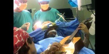 Musa Manzini plucked away as surgeons removed his brain tumour. Photo: COURTESY OF MUSA MANZINI