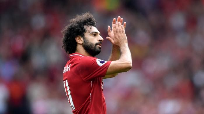 Mohammed Salah. Photo: Getty Images