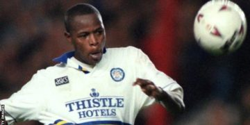 Masinga spent two years at Leeds United, joining at the same time as compatriot Lucas Radebe