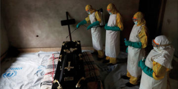 Many deaths have been recorded from the outbreak. Photo: Goran Tomasevic/Reuters