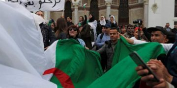 Protests forced Bouteflika out of office months ago. Photo: Reuters