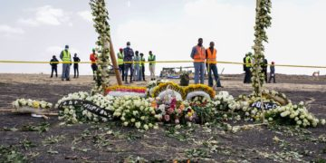 Ethiopia airline crash Boeing jet
