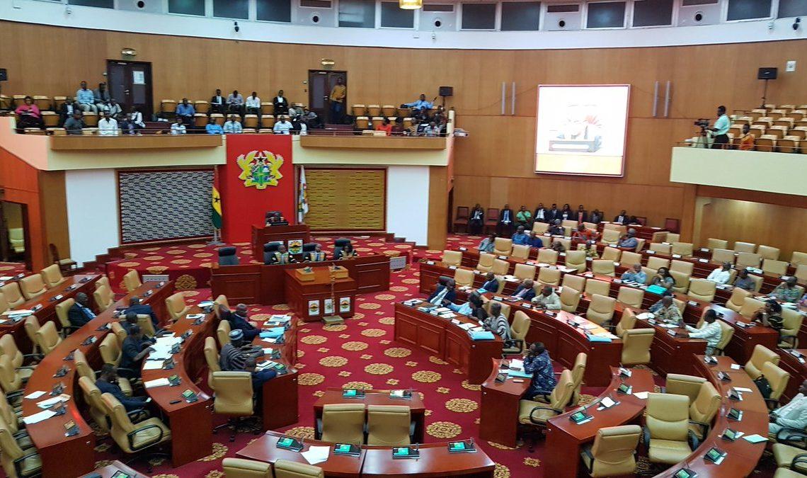 Ghana Parliament chamber