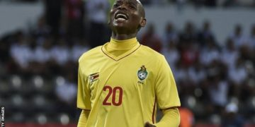 Khama Billiat scored from a free-kick to put Zimbabwe ahead against Congo Brazzaville in Harare