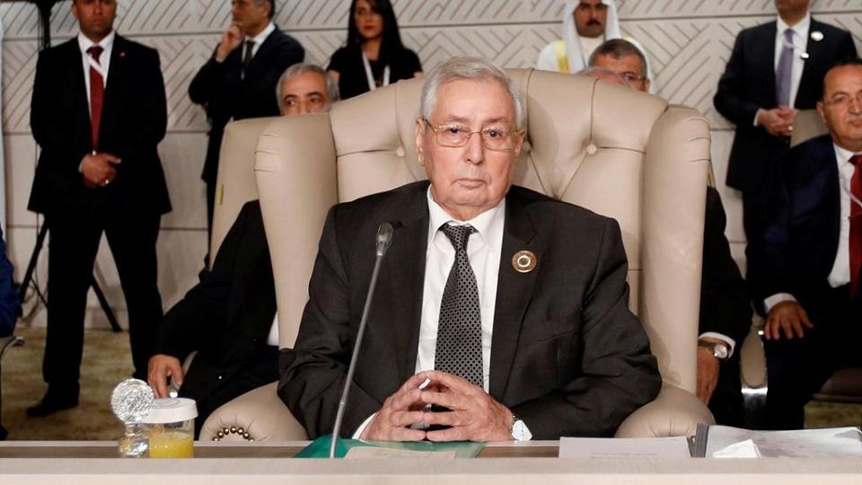 Bensalah is the speaker of Algeria's upper house parliament.