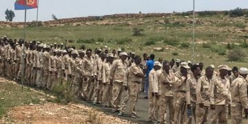 National service in Eritrea is supposed to last 18 months but it can continue indefinitely, rights groups say. Photo: Getty Images