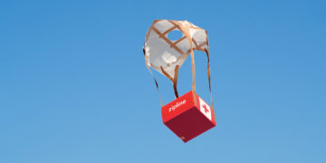 The drone delivery service initiative is to help improve health care delivery in Ghana