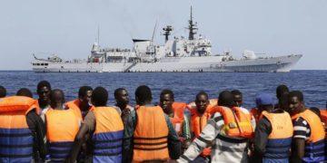 Boat disaster migrants