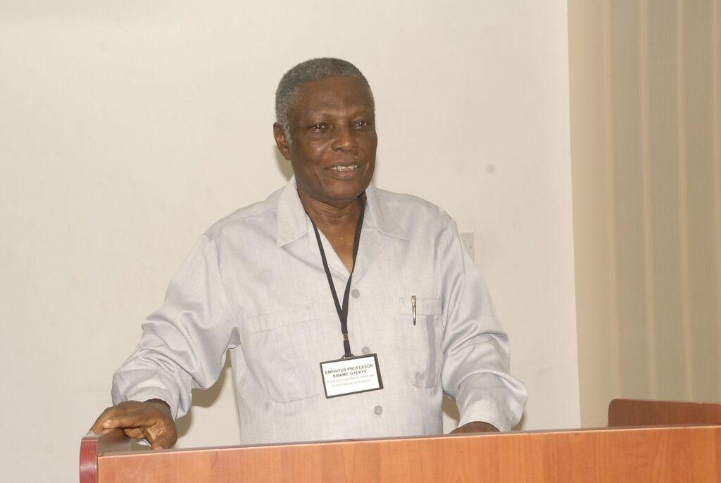 The Late Professor Kwame Gyekye, an African Philosopher