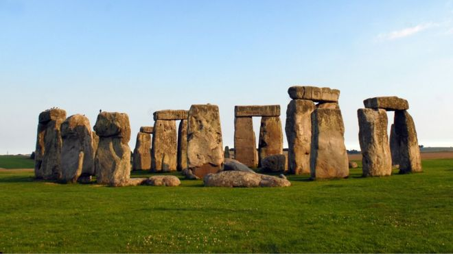 Construction on Stonehenge probably began about 3,000BC