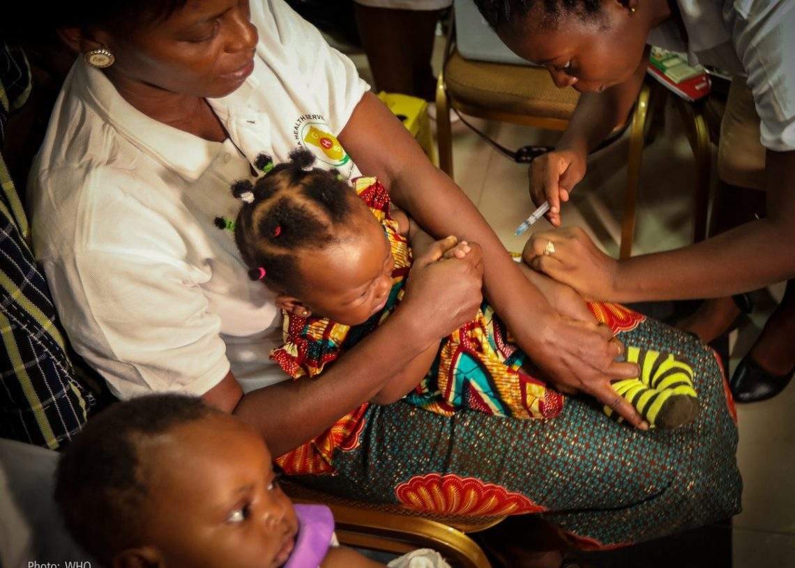 The Malaria vaccine is to prevent the high level of deaths among children.