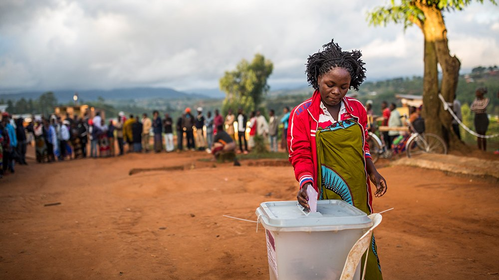 Malawians are electing a new President.