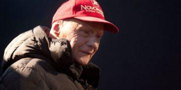 Niki Lauda underwent a lung transplant nine months ago. Photo: AFP