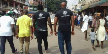 Ghana has over 40 vigilante groups largely dominated by those affiliated to political parties.
