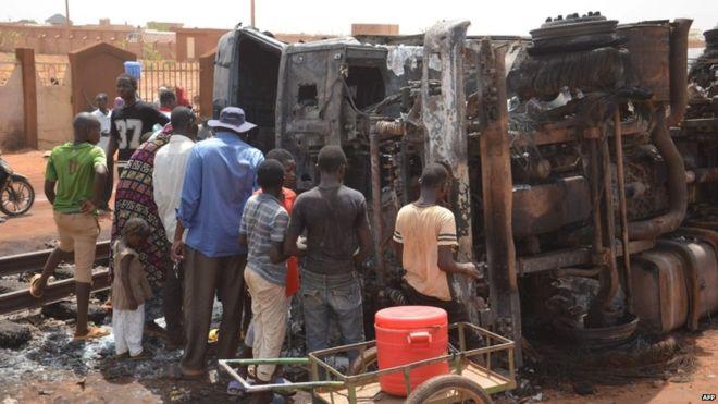 Niger: Over 58 killed in fuel tanker explosion