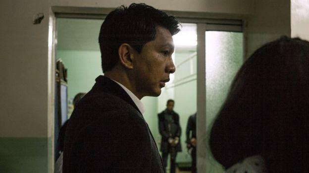 Andry Rajoelina at hospital