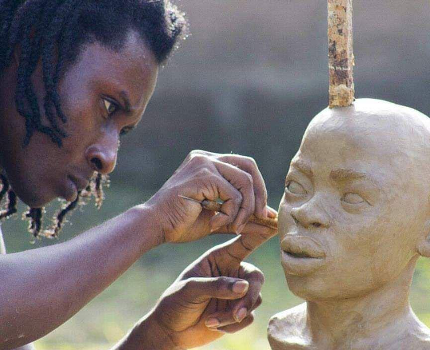 Kwame Akoto-Bamfo is a Ghanaian sculptor.