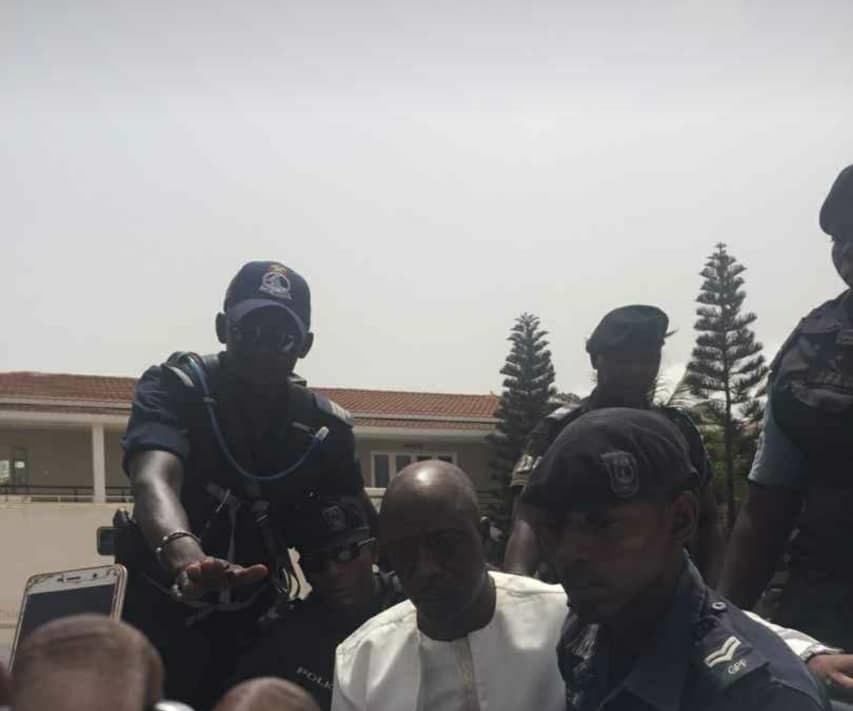 Yankuba Touray arrested