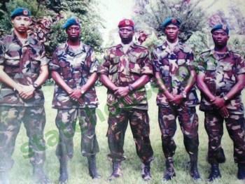 Yankuba Touray and Yahya Jammeh