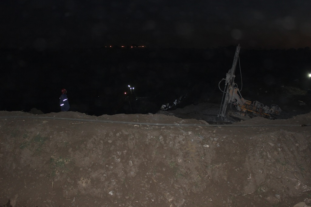 Mining in Lusaka