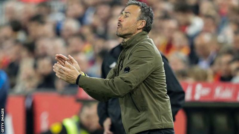 Luis Enrique's last game in charge was a 2-1 victory over Norway in a Euro 2020 qualifier in March