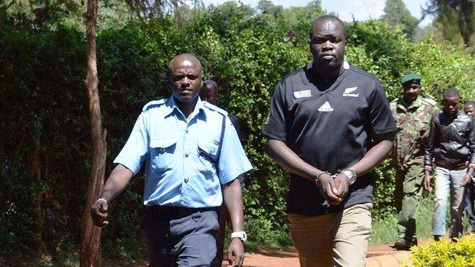 Famous Kenyan blogger Robert Alai.