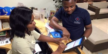 The digital platform is being used in Nigeria, Ghana and South Africa. Photo: Talamus / Beaver Clinic