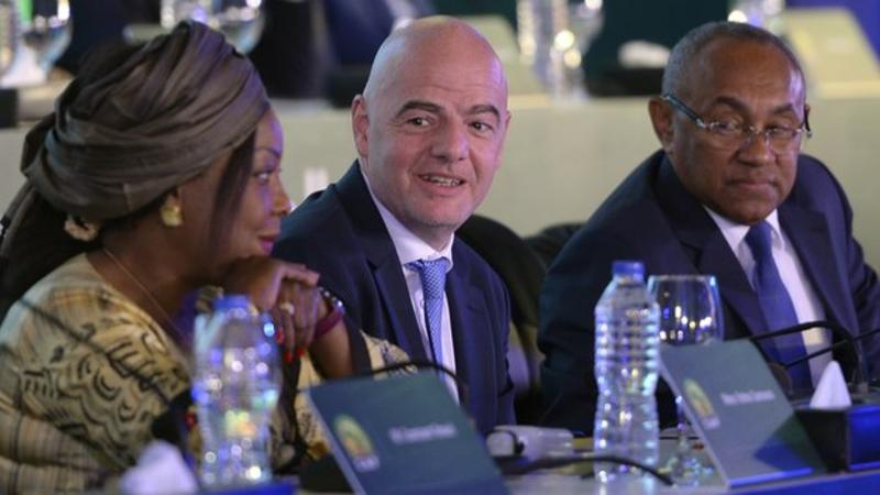 Fifa Secretary General Fatma Samoura is set to assist the Confederation of African Football, led by Ahmad