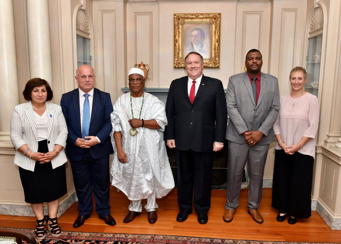 2019 International Religious Freedom Award Recipients