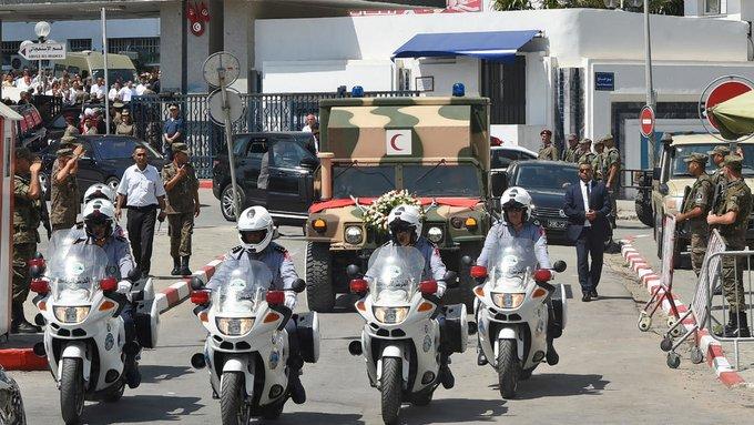 State funeral Tunisia Essebsi