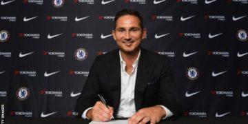 Chelsea appoint Frank Lampard