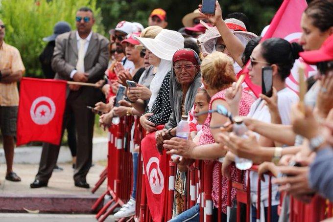 Funeral for Essebsi Tunisia