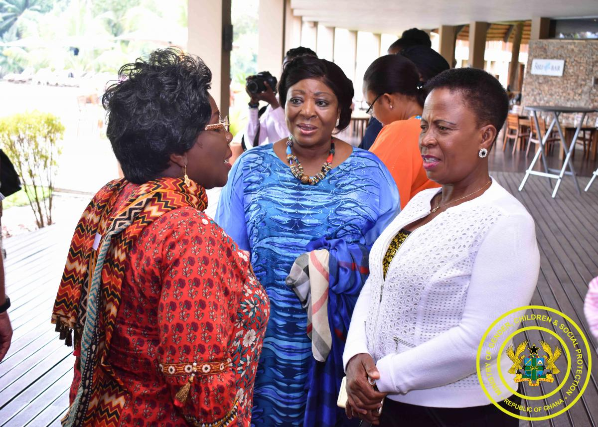 Female politicians in Ghana