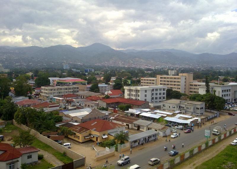 City of Gitega Burundi