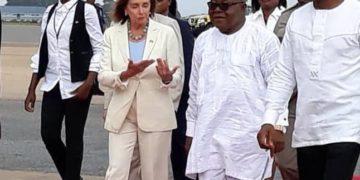 Nancy Pelosi in GHANA