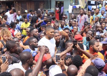 Anthony Joshua Lagos slum