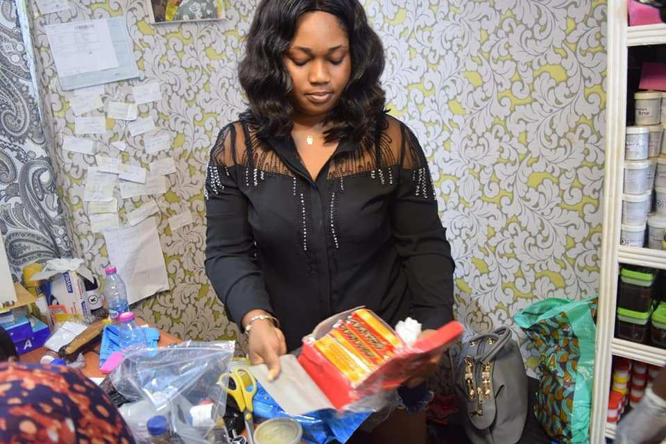 Mama Gee Ghana charm seller