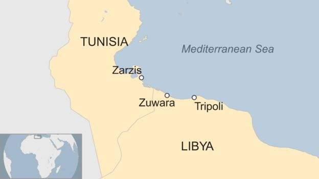 African migrants Tunisia