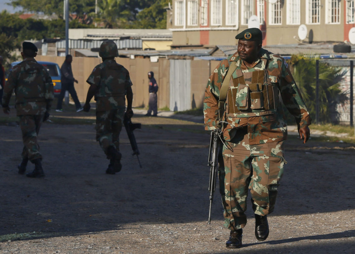 South Africa Military