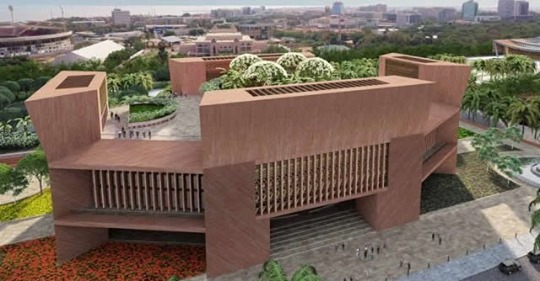 New parliament chamber in Ghana