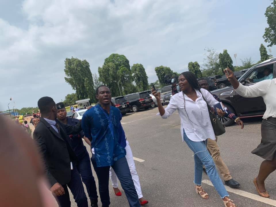 Protesters arrested in Ghana