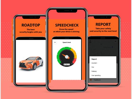 RoadTop App Ghana