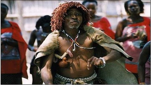 Witch doctors Swaziland