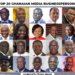 Ghana media persons
