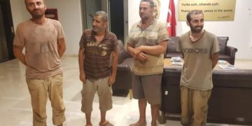 Turkey Nationals kidnapped