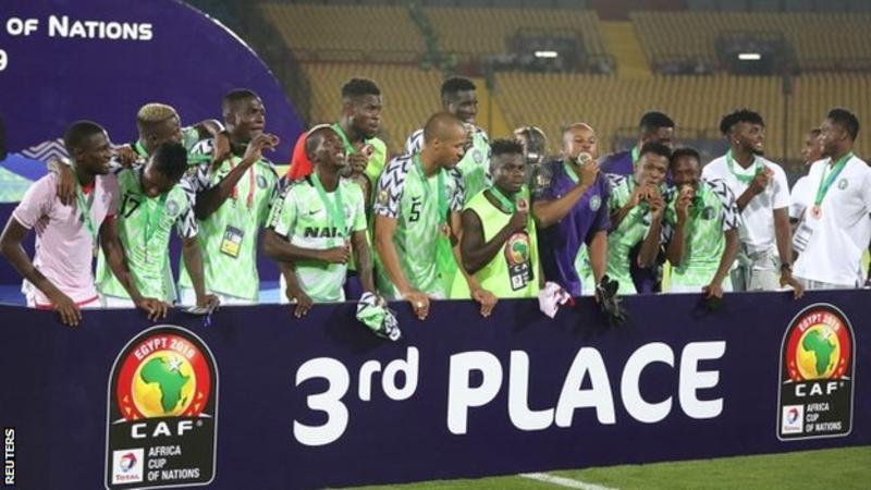 Nigeria afcon bronze