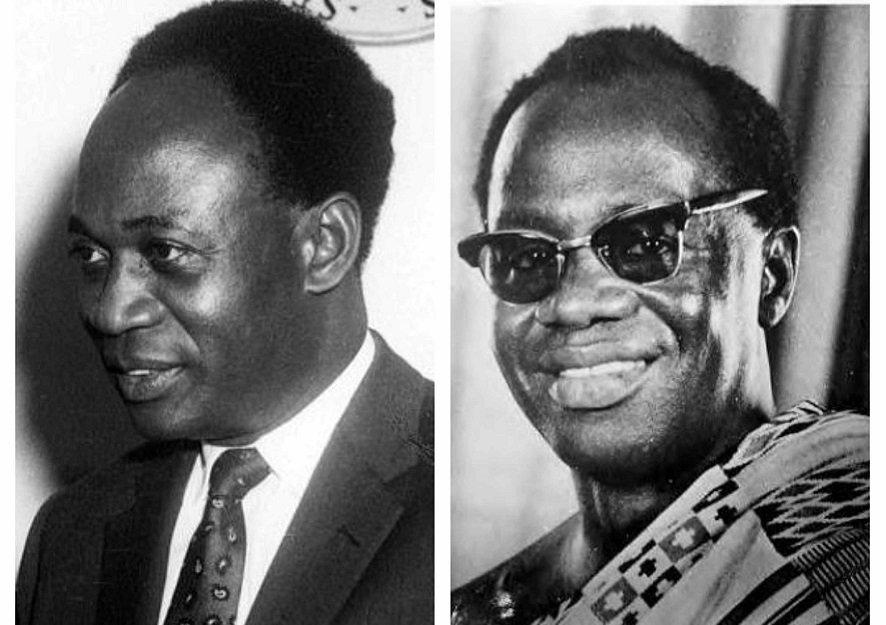 Kwame Nkrumah and Busia